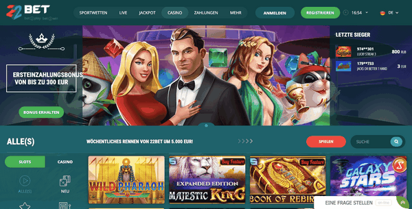 22 Bet: Überprüfung eines der glaubwürdigsten Glücksspielunternehmen im Internet